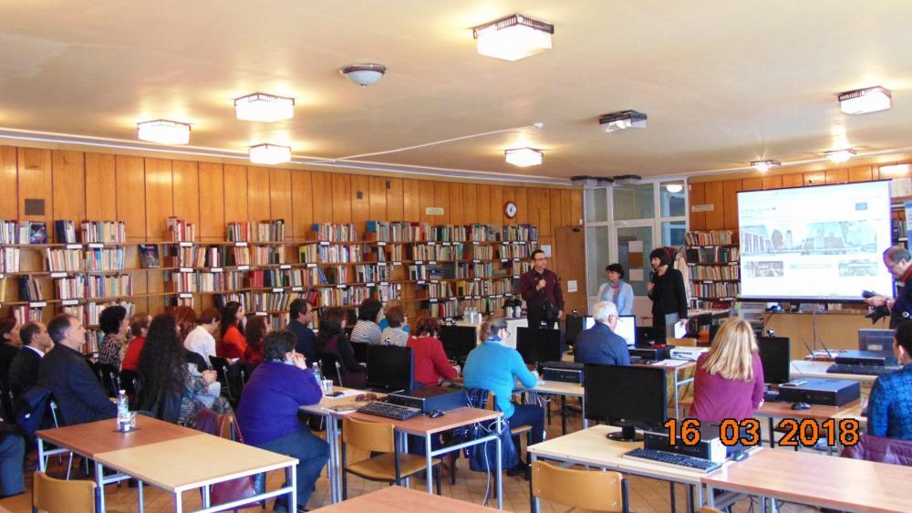 "16 March 2018, Regional Library ""Hristo Smirnenski"", Haskovo, Bulgaria"