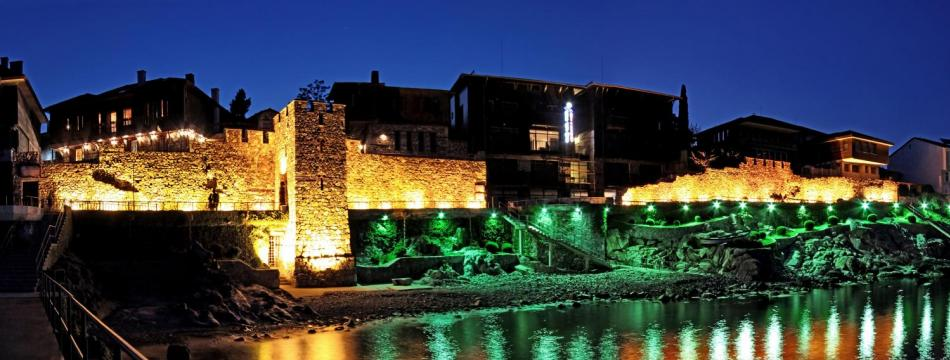 Sozopol  City Walls part of which was renovated within Project funded by the Programme