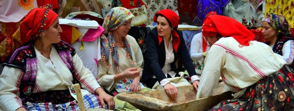 Crafts exhibition in Ipsala, Edirne organised under Project