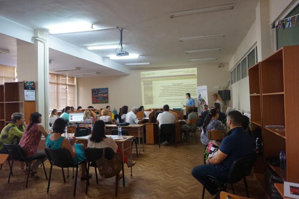 """АЕГ """"Гео Милев"""", гр. Бургас, 25 юли 2019 г."""