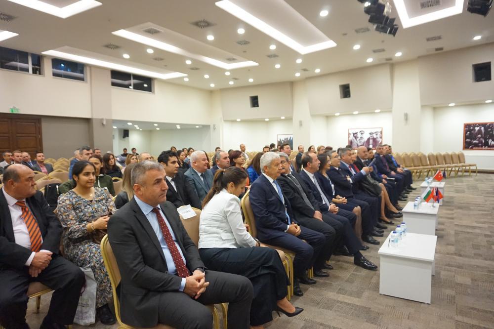 13 November 2019, Meriç Meeting Hall of Edirne Chamber of Trade and Industry (ETSO)
