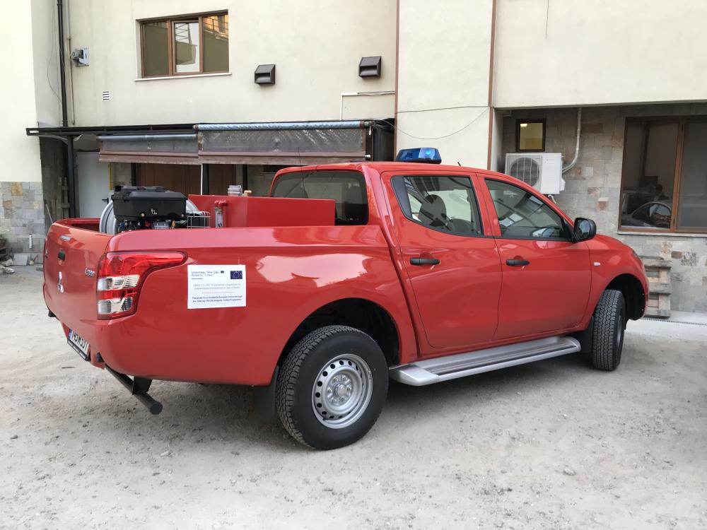 Supply of rescue vehicle under the project